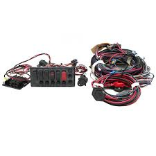 boat switch fuse panel kit w trolling motor wiring harness 1986794 lund 16 17 18 pro guide carbon fiber boat switch fuse panel kit w boat switch fuse panel kit w trolling motor wiring harness 1986794