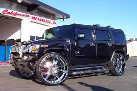 Hummer After Modification And Or Restoration By California Wheels Chariotz Hummer H2 Hummer Hummer Cars