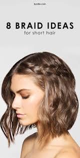8 Braids That Look Amazing on Short Hair | Heatless curls, Curling ...