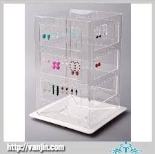 Lucite Stands For Display Square Clear Acrylc Lucite Jewelry Earring Holder Display Stand 91