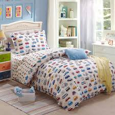 bedding set printed cars kids cartoon 100cotton duvet cover set pertaining to brilliant residence cars bedding set decor