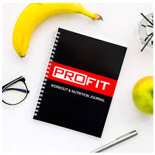 Diet Workout Journal Profit Fitness And Food Journal Weight Loss Planner