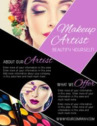 Makeup Flyer Templates Free Magdalene Project Org