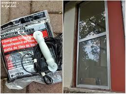 head over heels diy friday window screen repair replacement
