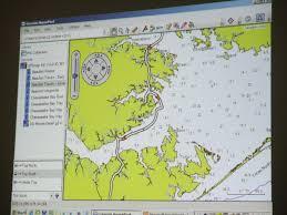 Icw Charts Via Power Point Blue Marsh Sailing Association