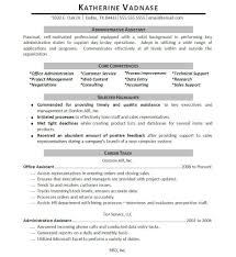 Office Skills Resume Examples Office Skills For Resume Resume