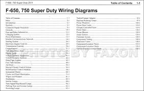 2011 ford f 650 and f 750 super duty truck wiring diagram manual 2011 ford f 650 and f 750 super duty truck wiring diagram manual original