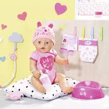 <b>Zapf Creation Baby Born</b> Interactive Sister Doll 9 Features Role Play ...