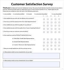 Restaurant Survey Example The Newninthprecinct