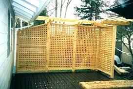 patio privacy screen portable fence ideas design uk popular p