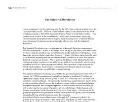 revolution essay topics industrial revolution essay topics