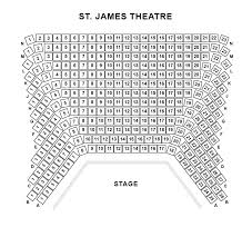 St James Theater Seating Chart My Mother Said I Never Should Ticmate