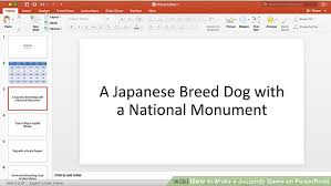 Sample Jeopardy Powerpoint Delectable How To Make A Jeopardy Game On PowerPoint With Pictures