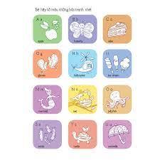 Sách Bé tập tô - bé học chữ - Chữ cái tiếng Anh ABC