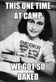 Anne Frank Belieber memes | quickmeme via Relatably.com