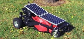 diy solar powered rc lawn mower cut your grass without ever leaving the