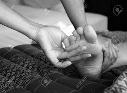 Foot Massage, Reflexology Concept Stock Photo, Picture And Royalty Free Image. Image 33292399.
