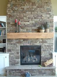 we want to add mantel to our stone fireplace i don t like this