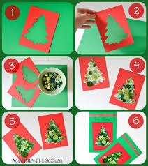 Making Christmas Cards With ToddlersChristmas Card Craft For Children