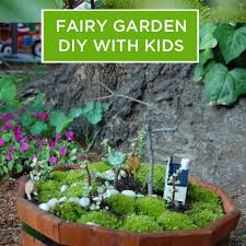 diy fairy garden with kids