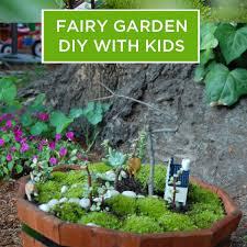 diy fairy garden for kids