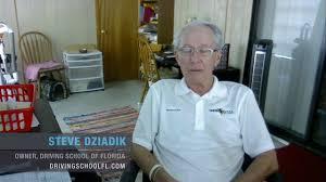 Steve Dziadik, DSM Testimonial - Driving School of Florida - YouTube