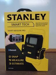 stanley digital tape measure. new stanley stht77366 smart tech measure pro digital measuring device oop tape f