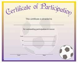 Football Certificate Template Mesmerizing 48 Superb Football Tournament Certificate Template Altemeierei