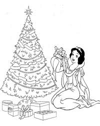 Black And White Christmas Coloring Pages At Getcoloringscom Free
