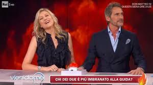 Le domande scottanti con Natasha Stefanenko e Luca Sabbioni - Vieni da me  16/01/2020