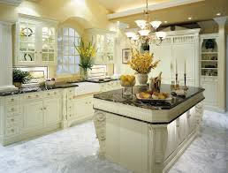 White Kitchen With White Granite Beautiful Traditional White Kitchen Ideas With White Lacquered