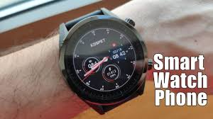 <b>Kospet</b> Hope <b>4G</b> Smartwatch Phone - <b>Power</b> & Style - YouTube