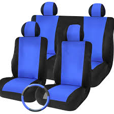 tirol new universal car seat covers 9pcs set front rear cover set for crossovers suv