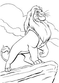 Il Re Leone Disney Az Colorare