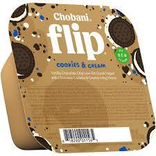 chobani flip cookies cream low fat greek yogurt hy vee aisles grocery ping
