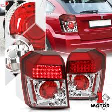 Euro Car Parts Brake Light Bulbs Details About Red Clear Euro Led Altezza Tail Light Reverse Brake Lamp For 07 12 Dodge Caliber