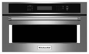 kitchenaid 1 4 cu ft built in microwave stainless steel larger