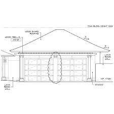garage door sizeDouble Car Garage Door Size2 Sizes Standard Smallest 2 Size