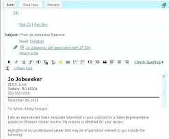 Sample Letter To Send Resume How To Send Email With Resume Sample Email To Send Resume Email To