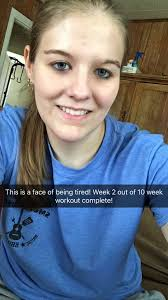 """Crystal McGill on Twitter: """"Week 2 of 10 week workout complete ..."""