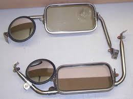 Buy 2 VINTAGE FORD PICKUP TRUCK MIRRORS WITH SIGNAL STAT SPOT MIRROR ...