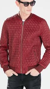 Mens Genuine ZA 2015 spring new Red checkered Low collar Quilted ... & Mens Genuine ZA 2015 spring new Red checkered Low collar Quilted jackets  Man Slim Baseball uniform Outerwear 0706/429-in Jackets from Men's Clothing  ... Adamdwight.com