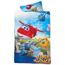 Kinderbettwäsche Super Wings 160x210