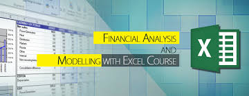 excel modeling financial analysis and modelling with excel computer academy