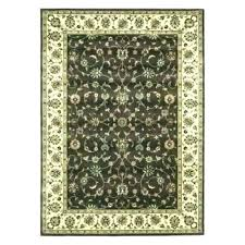 octagon rugs octagonal rug shaped fascinating arts chocolate 5 3