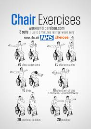 Chair Gym Exercise Chart Gym Free Workouts