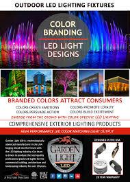 What Are The Colors Of Led Lights Color Branding Led Lighting Garden Light Led