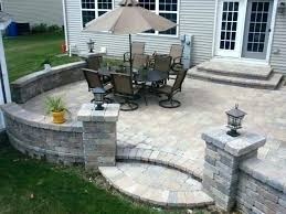 idea how much does a paver patio cost for average cost of patio cost of patio