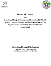 Request For Proposal For Selection Of Project Management Consultant ...