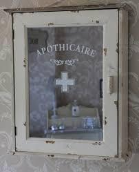 vintage style bathroom cabinet